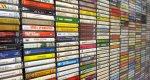 półka z płytami cd